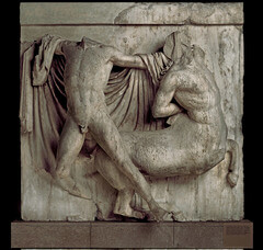 Lapith and Centaur Metope