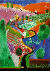 Nichol's Canyon by Hockney