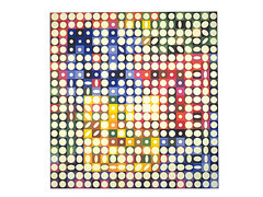 Orion  Victor Vasarely Mid 20th Century Hungarian French  OP ART (optical art). Has to do with vision and optics -- think optical illusion. Evolves from hard-edge painting. Has a sense of science and technology. The style doesn't last. Victor is one of the only to get a sense of heart into his pieces.