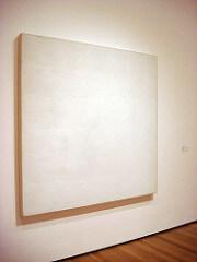 Robert Ryman Twin, 1966 Oil on cotton 6' 3 3/4