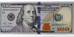 security features on a 100 dollar bill