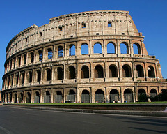 The Flavian Amphitheater (the Colosseum)