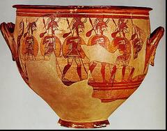 Warrior Vase