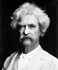 what does twain do to get more attention