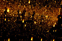 Yayoi Kusama Aftermath of Obliteration of Eternity, 2009 Mixed media installation 163 1/2 x 163 1/2 x 113 1/4 inches