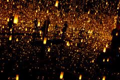 Yayoi Kusama Aftermath of Obliteration of Eternity, 2009 Mixed media installation 163 1/2 x 163 1/2 x 113 1/4 inches